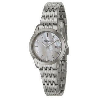 Pulsar PH7231 Women's 'Easy Style' Stainless Steel Quartz Watch