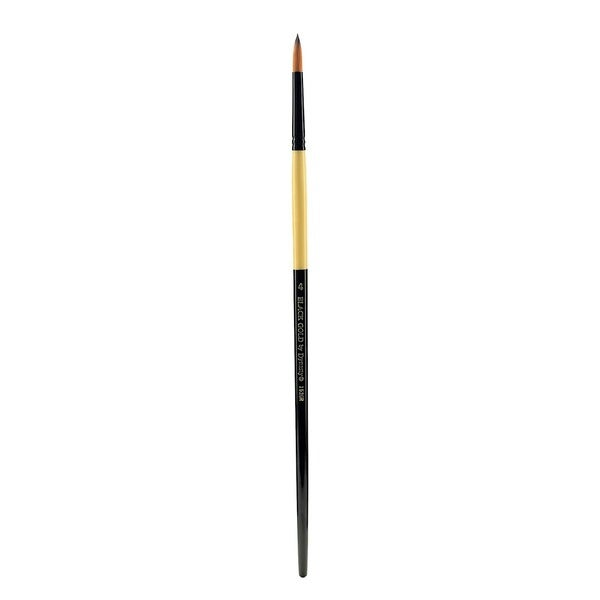 Dynasty Black Gold Series Long Handled Synthetic Brushes