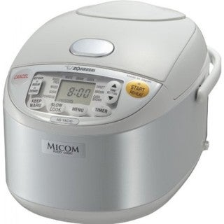Zojirushi NS-YAC10 Umami Micom 5.5-Cup Rice Cooker and Warmer - Pearl White