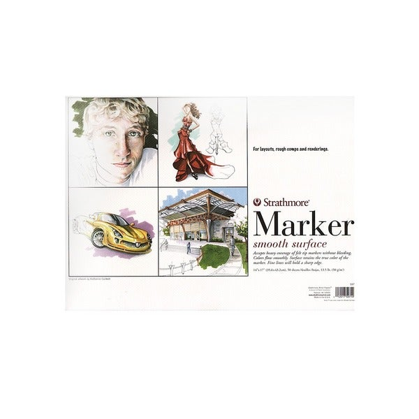 Strathmore 500 Series Marker Paper Pad