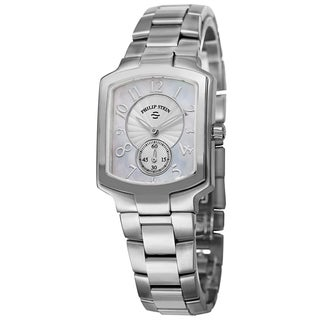 Philip Stein Women's 21-FMOP-SS2 'Signature' Mother of Pearl Dial Stainless Steel Quartz Watch