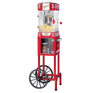 Nostalgia Electrics RKP530CART Retro Series 48-inch Kettle Popcorn Cart