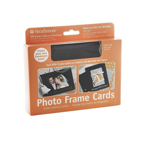 Strathmore Photoframe Greeting Card (Pack of 2)