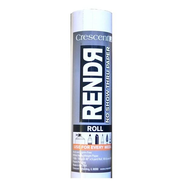 Crescent RendR No Show Thru Roll