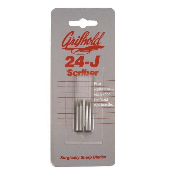 Grifhold 24-J Scriber Blades (Pack of 4)
