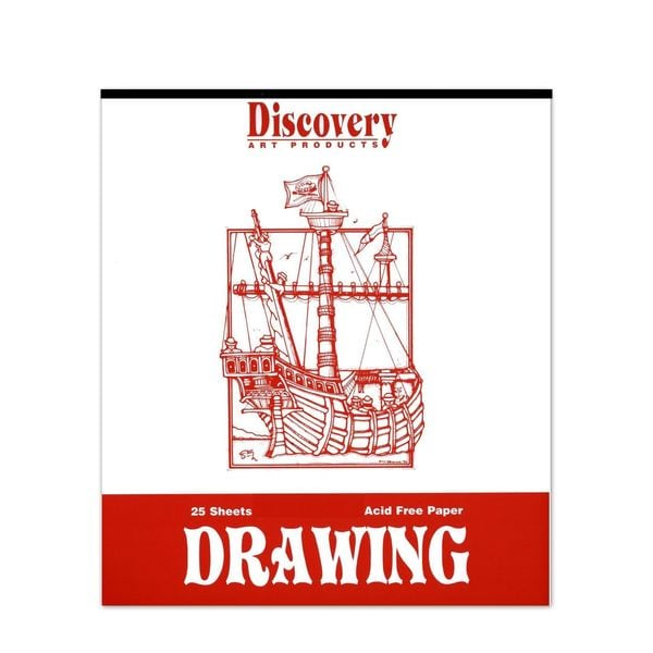 Discovery Newsprint Pad (Pack of 3)