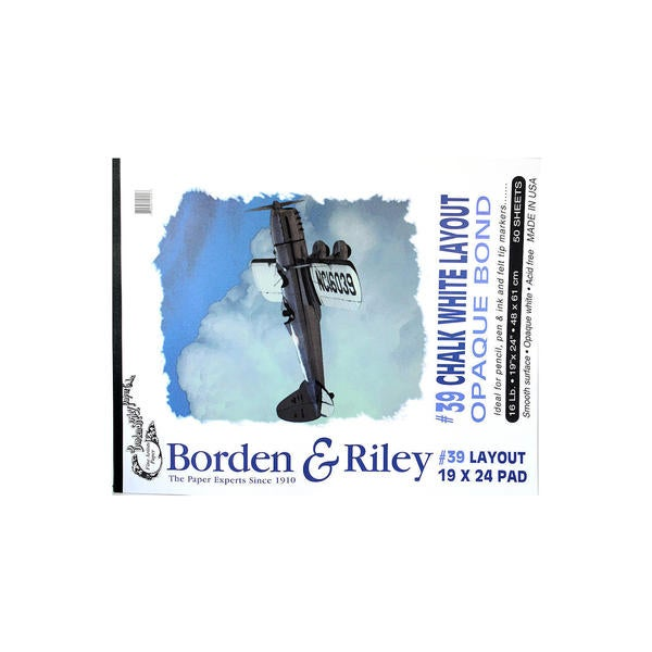 Borden & Riley #39 Opaque Layout Bond Pads