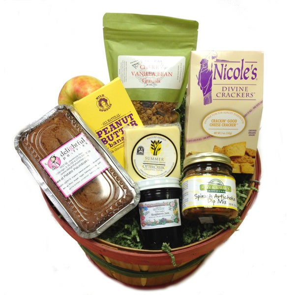 Fresh Picks Artisanal Gift Basket (Local Delivery)