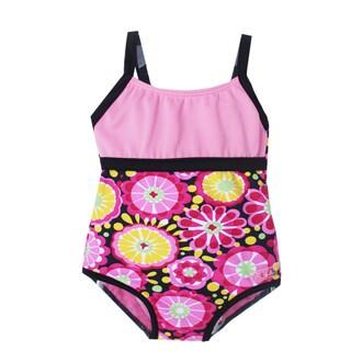 Girls' Fresh Blossom One Piece Swimsuit