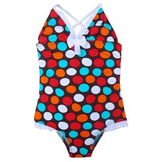 Azul Swimwear Girls' 'Spot On' One Piece