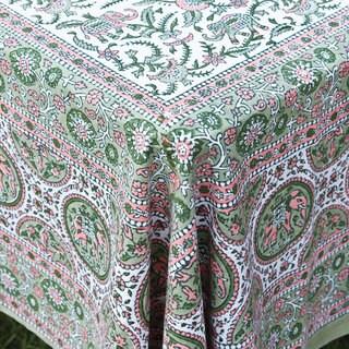 Block-printed Tablecloth (India)