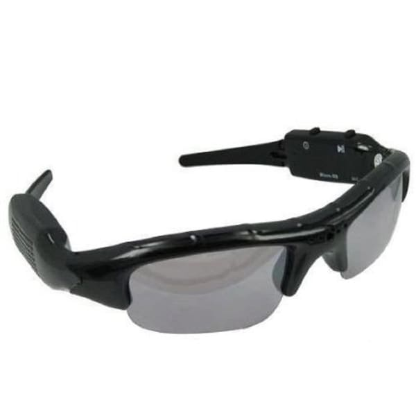 Designer Black Photo/ Video Recording Sunglasses