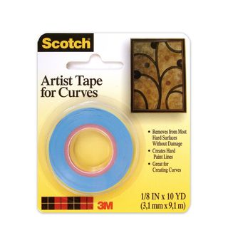 3M Scotch Artist Tape for Curves (Pack of 6)