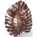 Iron Philodendron Leaf Wall Decor (Indonesia)