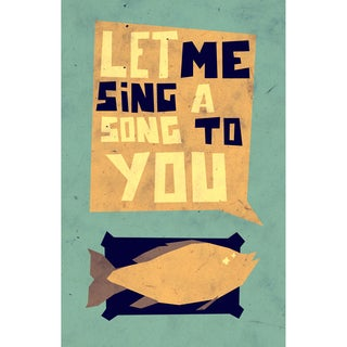 Epic Art Yetiland 'Let Me Sing a Song to You' Unframed Giclee Print Art