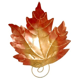 Iron Maple Leaf Wall Decor (Indonesia)