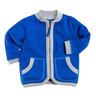 Neutral Organic Cotton Navy Jungle Jacket