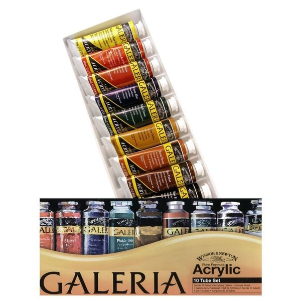 Winsor & Newton Galeria Acrylic Colour Basic Set 14467528