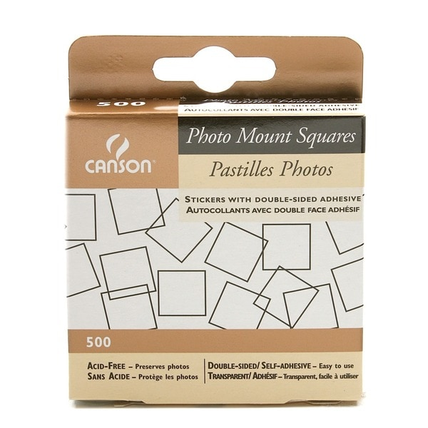 Canson Photo Mount Squares (Pack of 4)