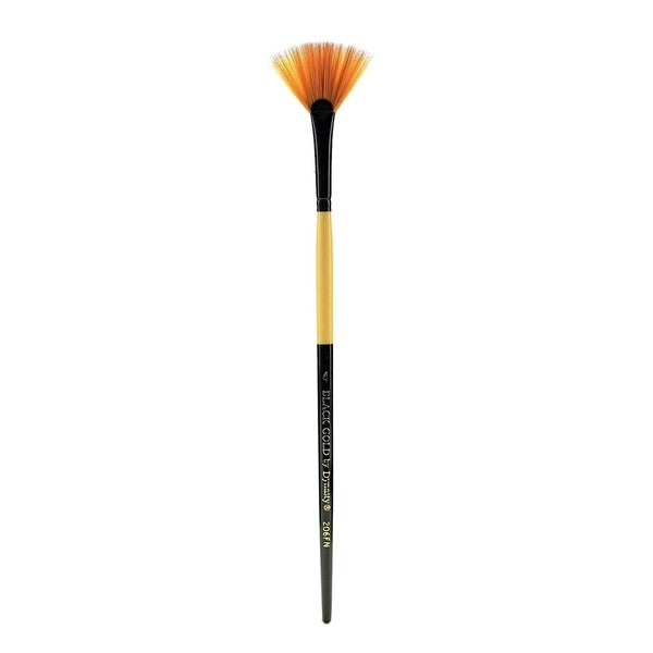 Dynasty Black Gold Series Synthetic Brushes Short Handle