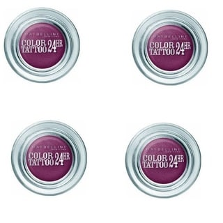 Maybelline 24 HR Color Tattoo Fuchsia Fever Eyeshadow (Set of 4)