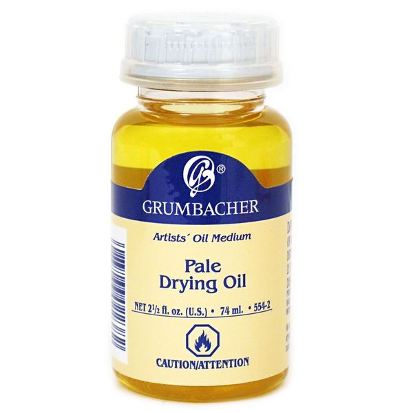 Grumbacher Pale Drying Oil (Pack of 2)