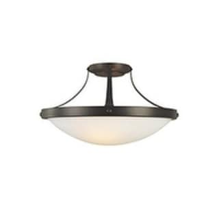 Boulevard Semi Oil Rubbed Bronze 2-light Semi Flush Fixture