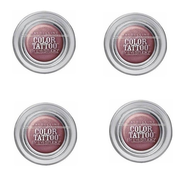 Maybelline 24-hour Color Tattoo Pomegranate Punk Maroon Eyeshadow (Set of 4)