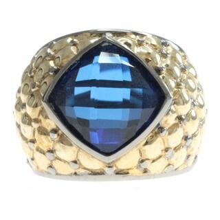 Michael Valitutti Blue Quartz Ring