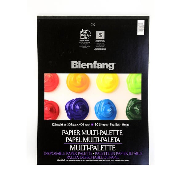Bienfang Multi-Palette Disposable Paper Palette (Pack of 2)