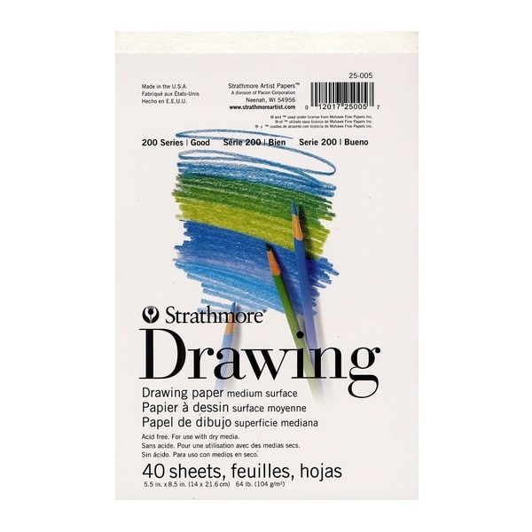 Strathmore Student Art Drawing Paper Pad (Pack of 9)