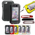 Gearonic Aluminum Waterproof Glass Metal Case Cover for Apple iPhone 6 4.7