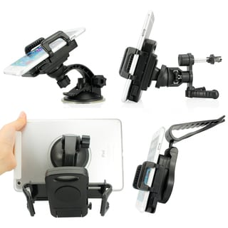 3 IN 1 Universal 5.5-9.5 cm car mount Air vent Suction Kit for All Phones
