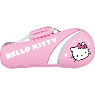 Hello Kitty Pink 3-racquet Tennis Bag