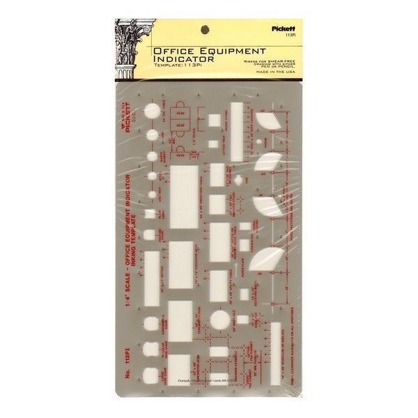 Pickett General Purpose Drafting Templates