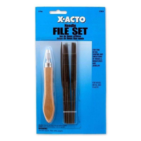 X-Acto Needle File Set