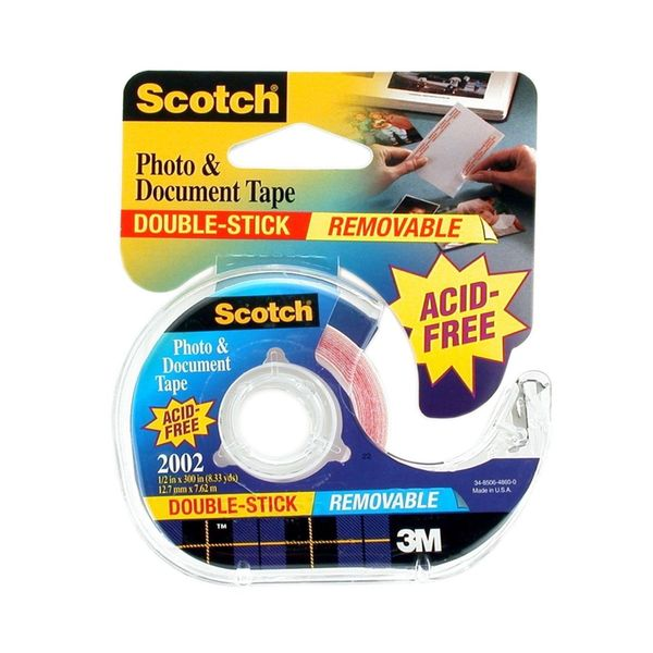 3M Removable Photo & Document Tape (Pack of 3)