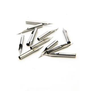 Speedball Hunt Artists' Pen Nibs--Hawk Quill No. 107 (2 Packs of 12)
