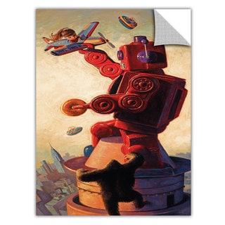 Art Appealz Eric Joyner 'Robokong' Removable Wall Art Graphic