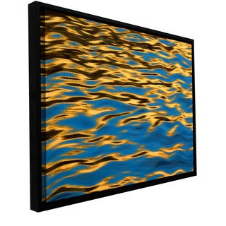 ArtWall Dean Uhlinger 'Rogue River Ripples' Floater Framed Gallery-wrapped Canvas