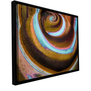 ArtWall Dean Uhlinger 'Top Down' Floater Framed Gallery-wrapped Canvas