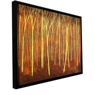 ArtWall Herb Dickinson 'Faithful Light' Floater Framed Gallery-wrapped Canvas