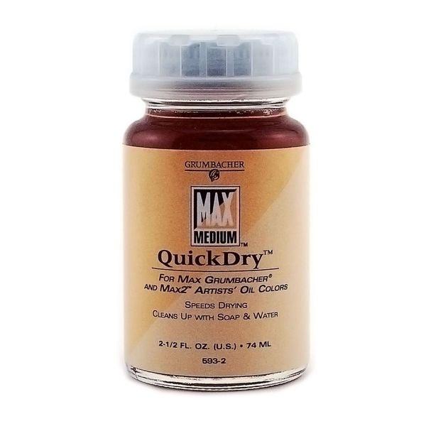 Grumbacher Max Quick Dry Medium (Pack of 2)