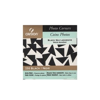 Canson Self-Adhesive Acid-Free Photo Corners