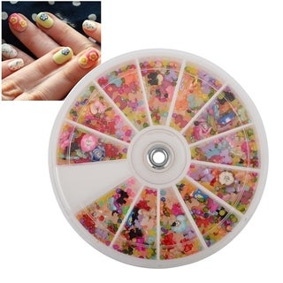 Zodaca Mixed Classy Nail Art Idea Design DIY Slice Decoration Manicure (Pack of 1200)