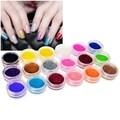 INSTEN 18-Color Classy Nail Art Idea Design DIY Glitter Powder Set
