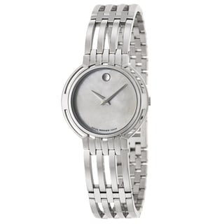 Movado Women's 0605238 'Esperanza' Stainless Steel Swiss Quartz Watch