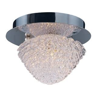 Blossom Chrome 1-light Flush Mount