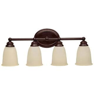 Capital Lighting Baxter Collection 3 Light Burnished Bronze Wall Sconce Bath