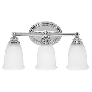 Capital Lighting Transitional 3-light Chrome Bath/Vanity Light